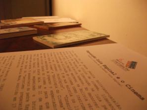 Luis Espinal's Books Exhibition (MIS, Campinas)